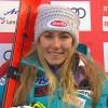 Mikaela Shiffrin liegt auch nach dem ersten Lauf im Lenzerheide-Slalom voran