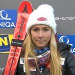 Mikaela Shiffrin übernimmt Führung beim Slalom am Semmering