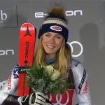 Mikaela Shiffrin ist nicht nur auf der Piste ein wahrer Champion