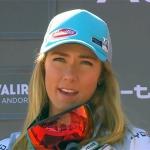 Mikaela Shiffrin ist im Trentino im Trainingseinsatz