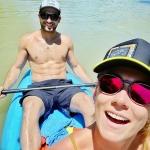 Mikaela Shiffrin und Mathieu Faivre grüßen aus Costa Rica