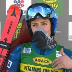 Mikaela Shiffrin führt nach dem ersten Riesentorlaufdurchgang von Courchevel am Montag