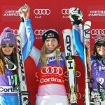 Lindsey Vonn gewinnt Cortina-Abfahrt – Verena Stuffer 17.