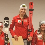 Christina Ager gewinnt Europacup Super-G in Kvitfjell