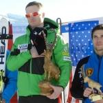 US Amerikaner Tim Jitloff gewinnt FIS Riesenslalom in Kirchberg in Tirol