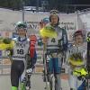 Irene Curtoni freut sich über italienischen Slalommeistertitel