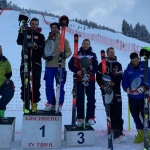 Giovanni Borsotti und Stefan Brennsteiner teilen sich Riesentorlauf Sieg in Kirchberg in Tirol