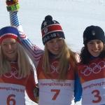 Mikaela Shiffrin ist Riesenslalom Olympiasiegerin der Damen.
