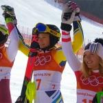 Schwedin Frida Hansdotter ist Slalom Olympiasiegerin 2018