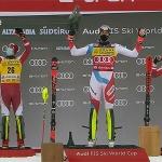 ÖSV News: Manuel Feller und Marco Schwarz stürmen in Alta Badia auf das Slalom Podium