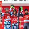 Manfred Mölgg gleich in Levi auf dem Weltcup-Podium