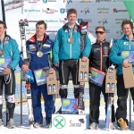 Florian Scheiber gewinnt Europacup Abfahrt in Sarntal (ITA)