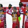 ÖSV NEWS: Gold, Silber und Bronze für ÖSV-Slalom-Herren-Team