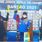 Ski-Junioren-WM 2021: Italienerin Sophie Mathiou gewinnt im Damen-Slalom WM-Gold