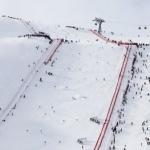 Der Weltcuphang am Rettenbachgletscher in Sölden