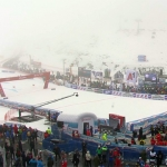 UPDATE: Aktuelle Situation beim Riesenslalom der Herren in Sölden