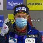 Sebastian Foss-Solevag führt nach dem ersten Slalomdurchgang von Madonna di Campiglio