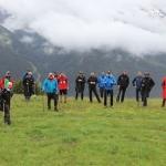 Countdown für Ski Weltcup Rennen in St. Anton am Arlberg läuft
