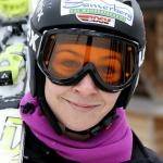 Veronika Staber siegt am Götschen, toller Nachtslalom mit über 100 Läuferinnen