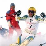 Blick zurück zur WM 1982: Ingemar Stenmark holt sich Gold im Spezialtorlauf