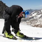 Georg Streitberger trainiert wieder auf Schnee