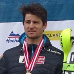 Johannes Strolz freut sich über Sieg beim 1. EC-Nachtslalom in Chamonix