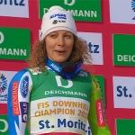Ilka Stuhec kehrt mit schönen Erinnerungen nach St. Moritz zurück