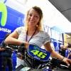 Ilka Štuhec von MotoGP-Rennen in Barcelona begeistert.