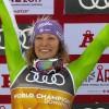 Abfahrtsweltmeisterin Ilka Stuhec wurde in Maribor gefeiert