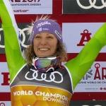 Abfahrtsweltmeisterin Ilka Stuhec feiert ihr Schnee-Comeback