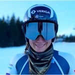 Slowenische Speedkönigin Ilka Stuhec baut auf Servicemann Sepp Lauber