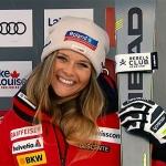 Corinne Suter träumt vom Gewinn einer Olympiamedaille im Jahr 2022