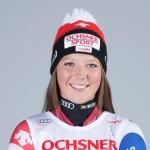 Juliana Suter gewinnt beide Europacup-Abfahrten am Passo San Pellegrino