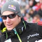 Aksel Lund Svindal führt nach dem 1. Durchgang beim WM Riesenslalom in Garmisch Partenkirchen