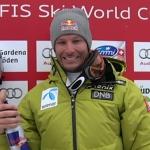 Aksel Lund Svindal mit Bestzeit beim 1. Abfahrtstraining auf dem Lauberhorn in Wengen