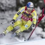 Aksel Lund Svindal auch beim 2. Abfahrtstraining in Kitzbühel mit Bestzeit