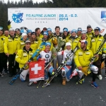 Swiss-Ski News: Das ist das Swisscom Junior Team 2015!