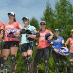 Mit den Schweizer Speedspezialistinnen auf der BMX-Piste
