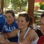 Heißes Training für italienische Ski-Mädls