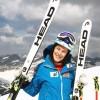 Carmen Thalmann steht wieder auf den Skiern und kann sich freuen