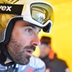 Adrien Théaux sucht noch einen Helm-Sponsor