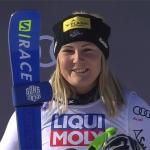 ÖSV NEWS: Tamara Tippler wird Dritte beim Super-G in Cortina d'Ampezzo