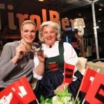 Kitzbühel feierte Maria Höfl-Riesch im TirolBerg