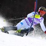 Riccardo Tonetti feiert beim Slalom von Chamonix am Freitag seinen ersten Europacup-Sieg