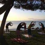 SWISS SKI NEWS: Erst Joga in der Morgensonne, dann Radfahren auf der Sonneninsel Mallorca