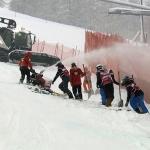 Die Abfahrt der Damen in Val d'Isere ist abgesagt.