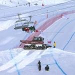 Programmwechsel in Val d'Isere: Abfahrt auf Sonntag verschoben.