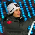 Anna Veith freut sich, dass die Olympischen Spiele endlich los gehen