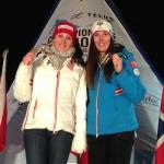 Stephanie Venier (AUT) gewinnt Super-G der Damen bei der Junioren-WM in Quebec