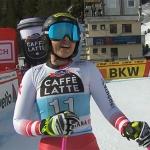 ÖSV News: Stephi Venier freut sich über Platz drei in der 1. Abfahrt von Crans Montana